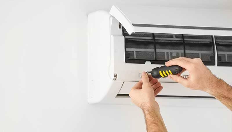 Installation d'une climatisation sans unité extérieure